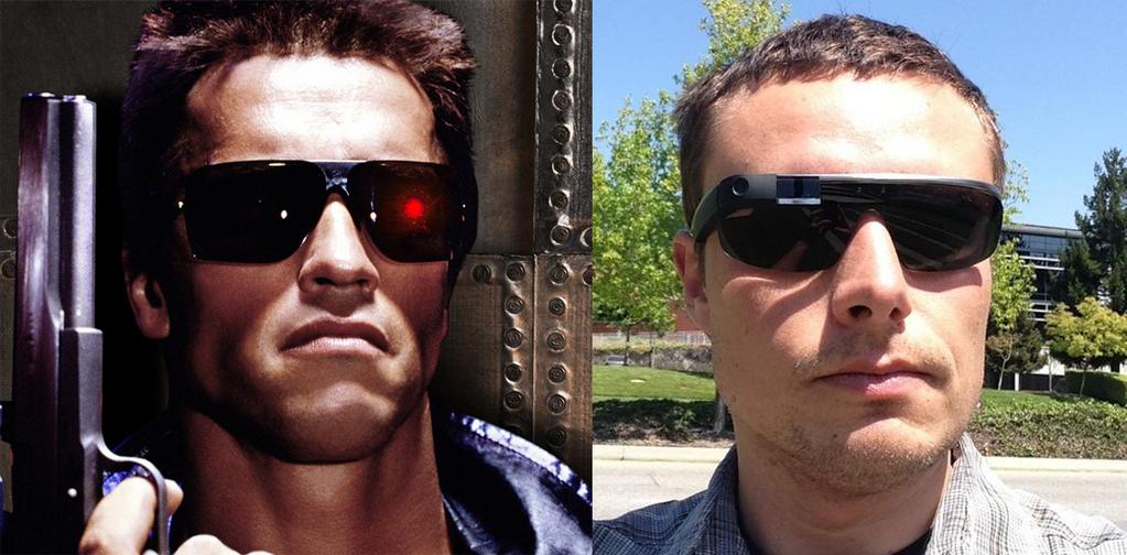 Lukew terminator google glass