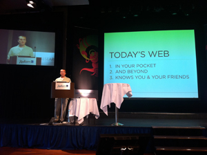 LukeW at Webdagene