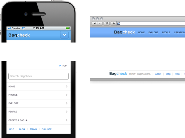 Responsive Web Design + Server Side Components