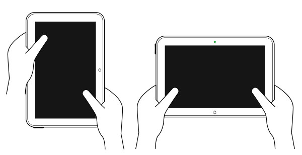 tablet postures