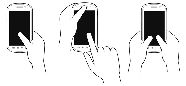 how people hold smartphones
